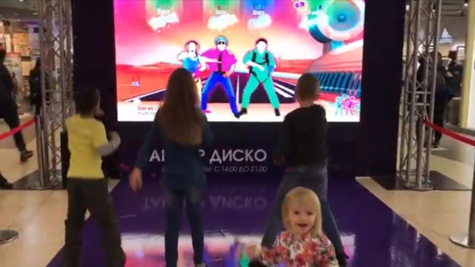 Игровая зона на день рождения ТЦ Галерея г. Новосибирск