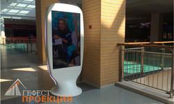 Поставка сенсорных терминалов. Заказчик – ТЦ «Метрополис»