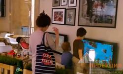 Интерактивное оснащение ресторанов сети Kitchen, г. Москва