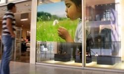 Проекционные витрины – реклама нового формата