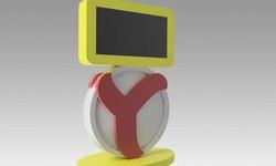 Интерактивный стол в офис YANDEX