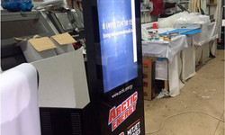 Поставка сенсорных терминалов. Заказчик - команда поддержки гоночной серии Формула 1 «Арктик Энерджи»