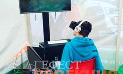 Очки виртуальной реальности на 2 этапе Российской дрифт серии. Дрифт RDS - Сибирь 2017