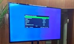Компания Ддевелопмент предоставила в аренду плазменную панель 55 дюймов