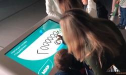 Интерактивная стена с пожеланиями для Сборной России по футболу от НПК «МИР»