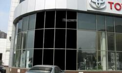 ВИЗУАЛИЗАЦИЯ Проекционная витрина для автосалона TOYOTA