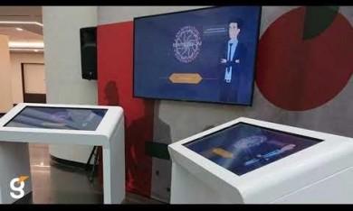 Интерактивная техника для мероприятия компании Татнефть г. Альметьевск