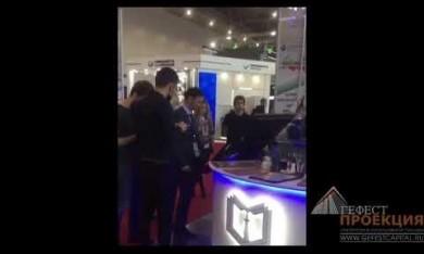 Компания Гефест Проекция РТ предоставила в аренду голографический вентилятор