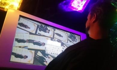Наша интерактивная фотолаборатория на вечеринке Halloween в клубе Soho Rooms