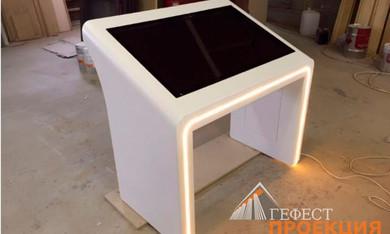 Поставка интерактивных столов. Заказчик – ООО «Скайтэк 21»